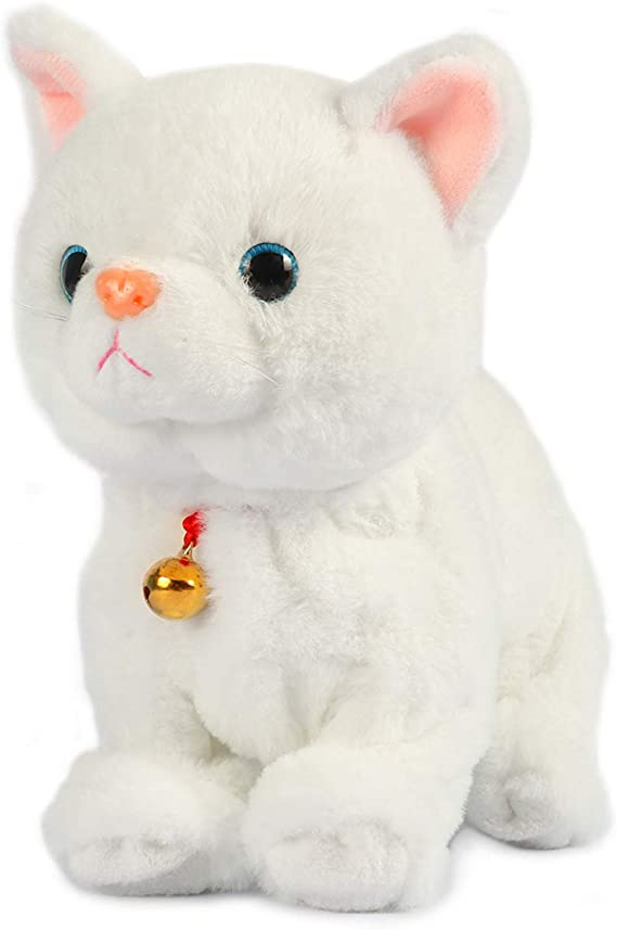 Small felt messenger with cat Funnycat 705