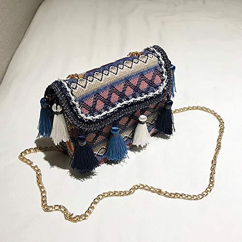 À Pochette Sac Voyage Vintage De Sacoche Besace Femme Champêtre Frange Plage La Main Bohémien Sachet Seau Tissé Noir Cabas Bandouliere Bohême 7drqdax