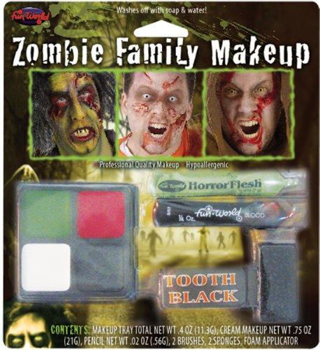 Zombie Family Makeup - 8