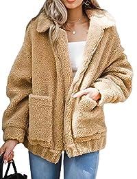 XXXITICAT Women's Winter Faux Fur Outerwear Parkas Jackets