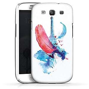 Carcasa Design Funda para Samsung Galaxy S3 i9300 / LTE i9305 PremiumCase white - In Paris