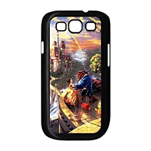 customized Beauty and the Beast for SamSung Galaxy S3 I9300 case S3-brandy-140050 Kimberly Kurzendoerfer