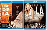 L.A. Confidential & To Live & Die in L.A. Blu Ray 2 Pack Love & Mystery Movie Set