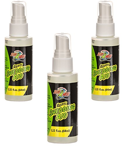 Repti Shedding Aid (Zoo Med Reptile Shed Aid, 2.25 oz (3 Pack))