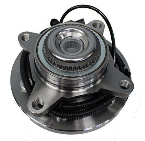 Price comparison product image Detroit Axle - Front Driver or Passenger Side Wheel Hub and Bearing Assembly for for - 2011-14 Ford Expedition 4x4 6 Lug Wheels - [2011-14 Ford F150 4x4 6 Lug Wheels] - 2011-14 Navigator 4x4