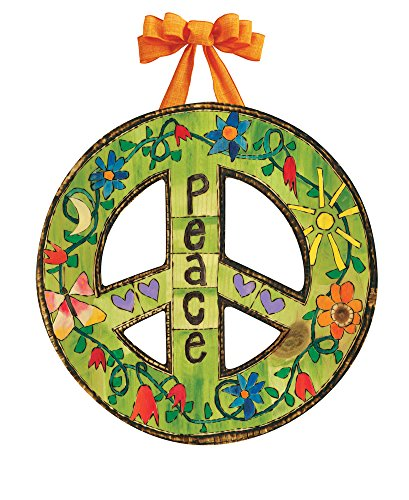 Studio M DD1652 Indoor/Outdoor Door Décor, Peace Everywhere