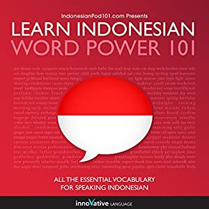 Learn Indonesian - Word Power 101 Hörbuch
