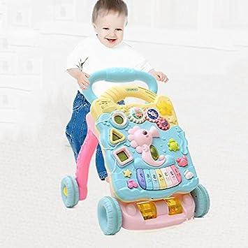 AIBAB 6-18 Meses Bebé Empujar Walker Multifuncional Prevención De ...