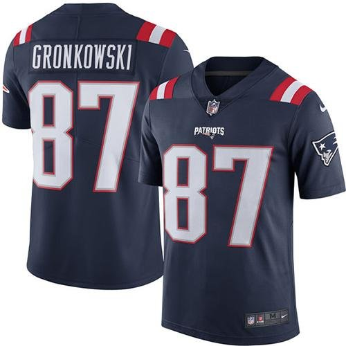 Nike New England Patriots Rob Gronkowski Jersey - Navy (xx-large)