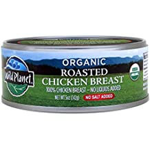 Wild Planet Organic Roasted Chicken Breast, 5 Ounce (Pack of 12)