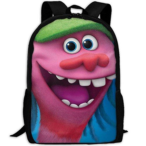 Trolls Functional Design For School Backpack Bookbag Rucksack Perfect For Transporting For School In 4 Season