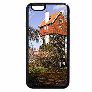 iPhone 6S Plus Case, iPhone 6 Plus Case, Building with Head in Box
