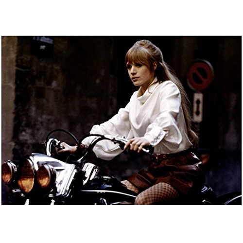 Cameraman: The Life and Work of Jack Cardiff (2010) 8 Inch x10 Inch Photo Woman in Fishnets on Motorcycle kn
