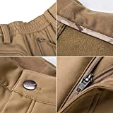FREE SOLDIER Men's Fleece Lined Outdoor Cargo