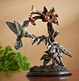 Hummingbird Patina Sculpture by Rosemary Millette