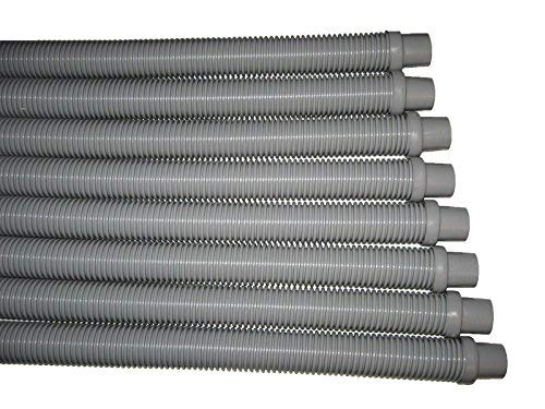 - 8 Swimming Pool Vacuum Pool Cleaner Gray Hoses 4' x 1-1/2