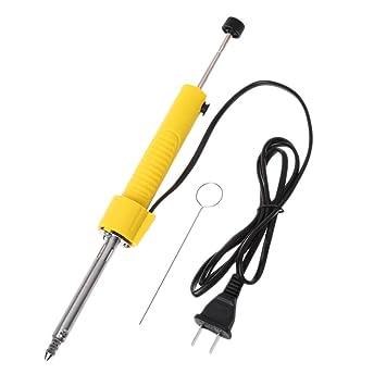 GROOMY Herramienta de Soldadura de precisión 2 en 1 Soldadura eléctrica y Pistola de succión de estaño: Amazon.es: Hogar