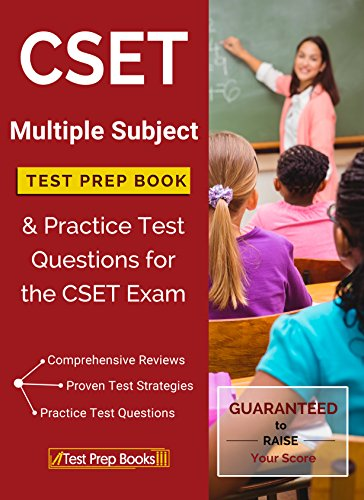 Amazon cset multiple subject test prep book practice test cset multiple subject test prep book practice test questions for the cset exam by fandeluxe Choice Image