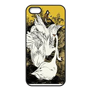 White swan Pattern Hard Case Cover For For iphone 5c Case color3