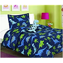 BEST SELLER DINOSAURS KIDS BOYS COMFORTER SET AND SHEET SET 6 PCS TWIN SIZE