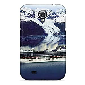 New Premium Flip Case Cover Princess Cruises Skin Case For Galaxy S4