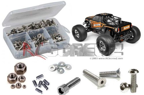 RC Screwz Stainless Steel Screw Kit for HPI Racing Savage XL Octane #hpi079