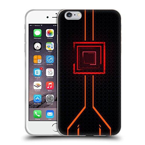 Official Alyn Spiller Orange Neon Soft Gel Case for iPhone 6 Plus/iPhone 6s - 6 Neon Plus Iphone Orange Case