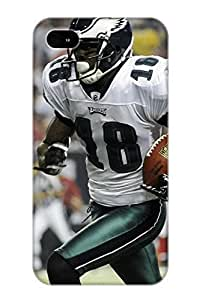 New Style Case Cover HKMiiM-2614-SJryZ PHILADELPHIA EAGLES Nfl Football Fq Compatible With Iphone 4/4s Protection Case