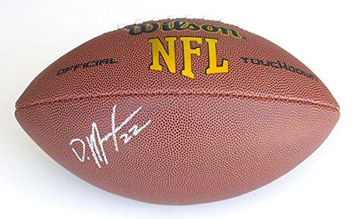 Doug Martin Autographed Football (Buccaneers)