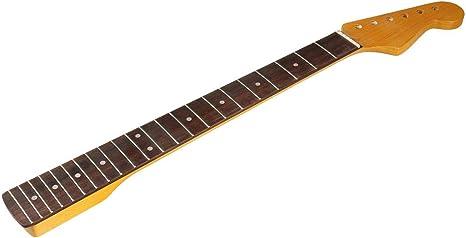 BQLZR Guitarra Eléctrica Derecha Palisandro + Cuello Diapasón de ...