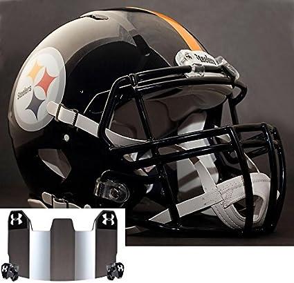 Amazon.com   Riddell Speed Pittsburgh Steelers NFL Replica Football ... f8cfdd433