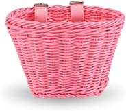 EIRONA Bike Basket for 12-16 Kids Bicycle, Balance Bike, Tricycle,Scooter with DIY Decal