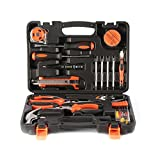 Tool Kit Set, PREUP Household Hand Tool Kit 45 Pieces Home Maintance Repair Tool Set with Plastic Toolbox Storage Case