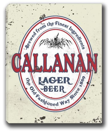 callanan-lager-beer-stretched-canvas-sign-16-x-20