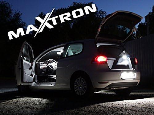 MaXtron Innenraumbeleuchtung Set f/ür Auto i40 CW 6000K Kalt Wei/ß Beleuchtung Innenlicht Komplettset