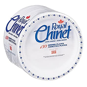 Royal Chinet Dinner Plates, 10 3/8-Inch, 150 Count Plates: Amazon.ca ...