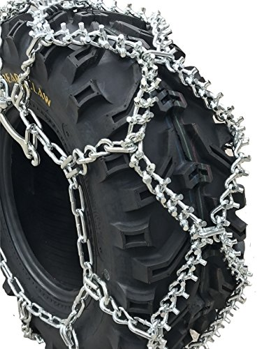 TireChain.com ATV UTV Lawn Tractor Studded Tire Chains ATV615Stud