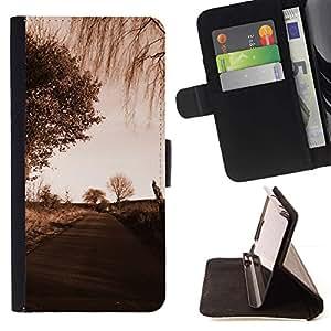 Momo Phone Case / Flip Funda de Cuero Case Cover - Camino Sad;;;;;;;; - HTC One A9