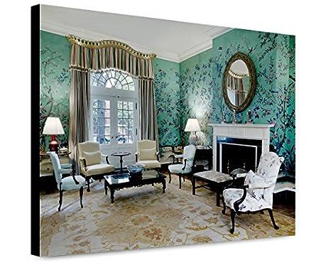 Amazon com: ClassicPix Canvas Print 12x15: Dillon Room, Blair House