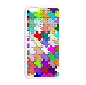 Custom Autism Awareness Puzzle Pieces iphone 6 plus-5.5 Plastic And TPU (Laser Technology) Durable Case