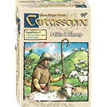 ZMan Games Carcassonne Expansion 9 Hills and Sheep Game by Z-Man Games