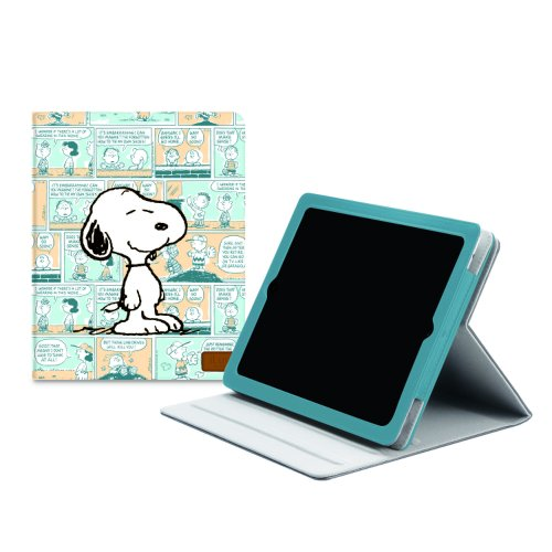 iLuv Peanuts Folio Case for iPad 2/3 (Snoopy) - Thin Case Plastic Iluv