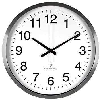 Velleman Reloj de Pared DCF - diámetro 50 cm - WC50D: Amazon.es: Electrónica