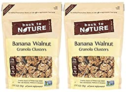 Back to Nature Granola Clusters - Banana Walnut - 11 oz - 2 Pack