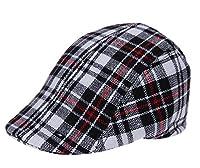 COMVIP Child Outdoors Lattice Beret Beanie Cap Baseball Hat