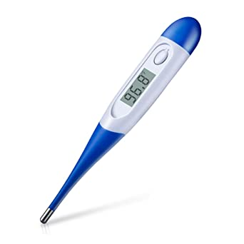 Oral Underarm for Children Adults /& Babies Accurate Reading Auto-Off Waterproof LCD Display Measurement Tool for Fever Digital Accessory for Body Measure Temperature