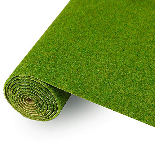 CP138 Artificial Model Grass Mat Trains Grass Green 40x100cm or 15.7