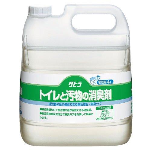 ピジョン タヒラトイレと汚物の消臭剤  106113AA(4L)(24-2409-00)【3本単位】 B01KDPLJF6