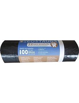 Schweitzer Bolsa Basura 100L Costaud X15: Amazon.es: Hogar