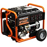 7500 watt propane generator - Generac 5943 GP7500E 7500 Running Watts/9375 Starting Watts Electric Start Gas Powered  Portable Generator (Discontinued by Manufacturer)